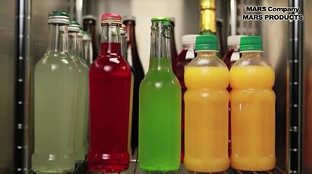 様々なドリンク・容器の冷蔵が可能